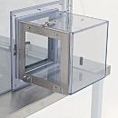 Standard Air Lock; Series 100, Nondissipative PVC, Right-mount