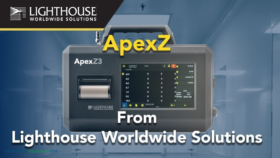 Lighthouse ApexZ Series Portable Particle Counters by LWS