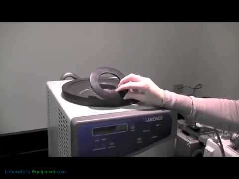 How to set up Labconco FreeZone Freeze Dry Systems