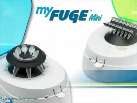 Video demonstration of the MyFuge Mini Centrifuge