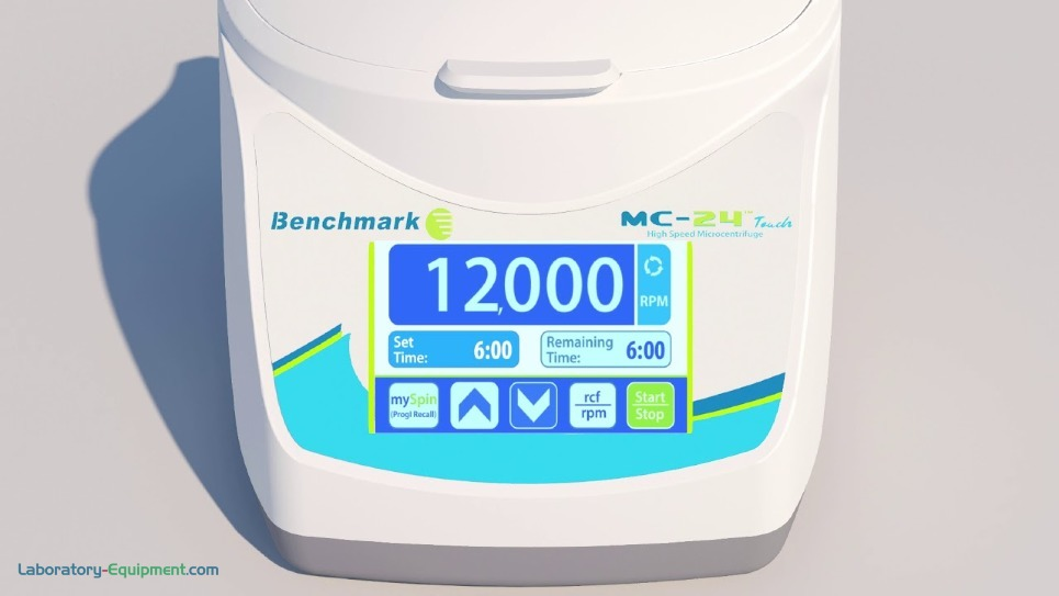 MC-24 Touch High Speed Microcentrifuge by Benchmark Scientific