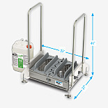 Footwear Sanitizing Station; HACCP SmartStep™, Best Sanitizers