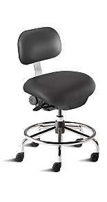 ISO 5 Ergonomic Cleanroom Chairs by BioFit