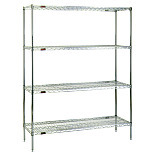 Pre-Configured Stainless Steel Shelf Rack Systems by Eagle