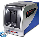 InnoScan® 1110AL High-Performance Microarray Scanner, Autoloader, 3-color fluorescence