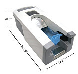 Small KineticButler Automatic Shoe Cover Dispenser