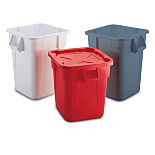 BRUTE® Square Containers & Accessories by Rubbermaid