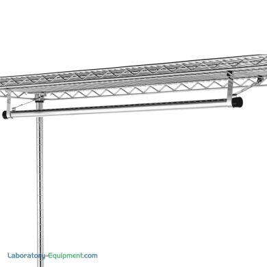 72 Inch Garment Hanger Tube Brackets 18 Inch Wide Shelves