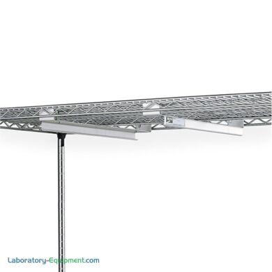 Adjustable Undershelf Slides for 24 Inch Wire Shelf