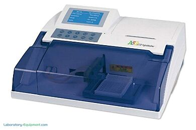 AgileWasher ELISA Plate Washer by ACTGene for 96 or 48-well microplates and strip tubes and stores 99 wash protocols