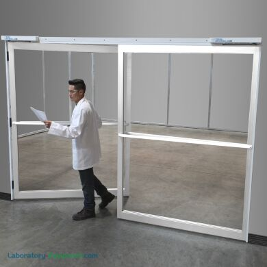 Extra-Wide Cleanroom Swing Doors
