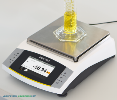 Sartorius Entris II BCA Advanced Precision Balances with a stainless steel weighing pan are available with external or isoCAL internal adjustment | 5706-PP-04 displayed