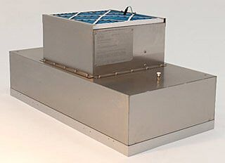 Explosion-Proof WhisperFlow™ Room Side Replaceable Fan-Filter Units allow filter changes without having to open the cleanroom ceiling   6601-24-HRE displayed