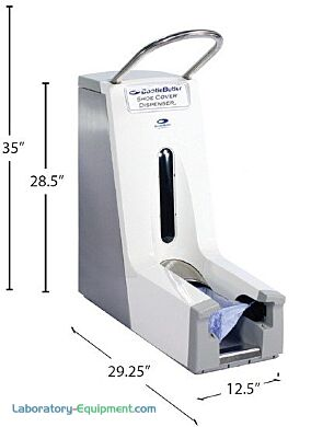 Automatic Shoe Cover Dispenser   3619-00 displayed