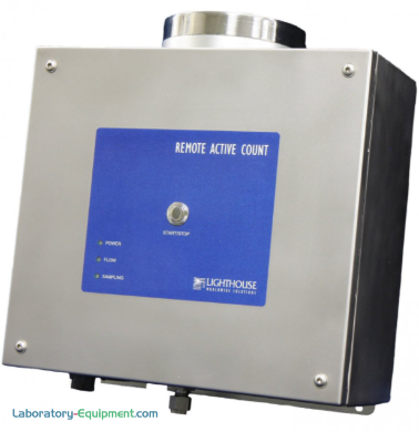 Microbial viable air sampler with an integrated vacuum system for cGMP and ISO-14698 compliance for use in critical aseptic manufacturing environments | 1510-64 displayed