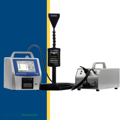 ScanAir Pro includes a diluter and the Solair Particle Counter for HEPA/ULPA and PTFE media filter testing | 1510-58 displayed