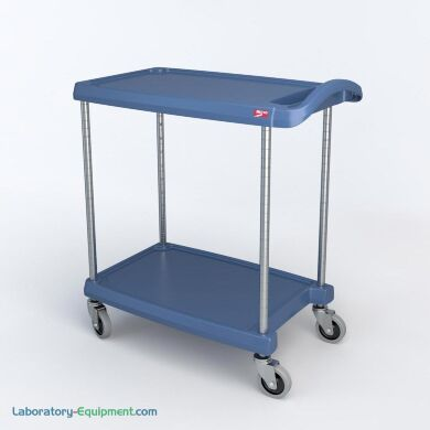 Mycart Series Polymer Utility Carts By Intermetro Laboratory Equipment