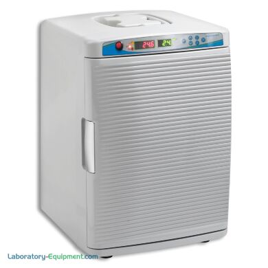 myTemp Mini CO2 Incubator by Benchmark Scientific with a 0.8 cu. ft. capacity fits inside many biosafety cabinets | 2828-04 displayed