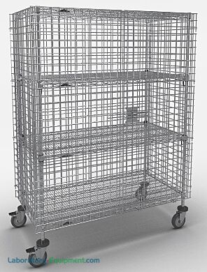 The heavy-gauge open wire grid provides maximum visibility | 2650-67 displayed