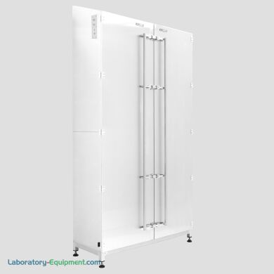 Heavy Duty Powder Coated Double Solid Doors Desiccator Cabinet, 48