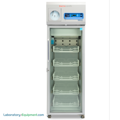 11.5 cu. ft. EnergyStar and GMP Clean Room compliant model for pharma and vaccine storage detects usage patterns; shown with optional chart recorder | 1621-20 displayed