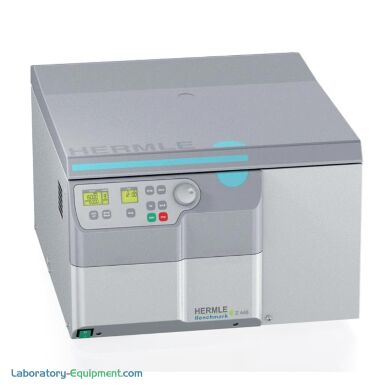 Hermle Z446 Super-Speed Refrigerated Centrifuge ideal for tissue culture lab use | 2823-65 displayed