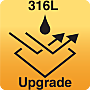 Upgrade to 316L stainless steel equipment for increased corrosion resistance and lasting durability  |  9999-316L displayed