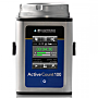 Microbial air sampler for cleanrooms and aseptic environments provides continuous and periodic sampling with a 100 L/min. flowrate and a 6 hour battery life | 1510-53 displayed