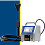 ScanAir for use with Solair particle counters (sold separately) has a 1.0 CFM flow rate; adjustable scan head and remote power button  |  1510-57 displayed
