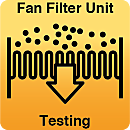 FFU Testing and Certification; Flow Rate and Filter integrity