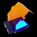 Transilluminator; SmartBlue Mini, Blue Light, Accuris Instruments, 120 V
