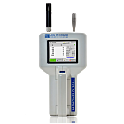 Lightweight 6-channel airborne particle counter with a sensitivity range from 0.3 - 25.0 μm ideal for spot-checking critical environments and cleanrooms