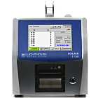 ISO 21501-4 compliant unit with a 0.1 - 1.0 μm sensitivity, a 1.0 CFM (28.3 LPM) flow rate and a Long Life Laser Diode; monitors ISO class 1-7 cleanrooms  |  1510-41 displayed