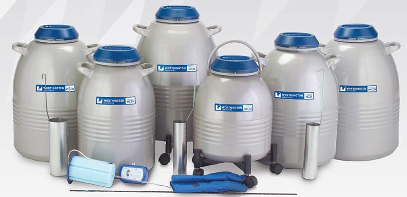 Compare Liquid Nitrogen Storage Tanks, Freezers, Vessels, and Dewars