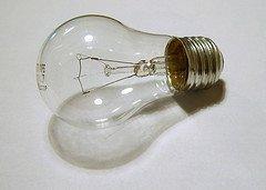 Generic incandescent light bulb photo