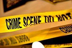 CSI crime scene tape photo
