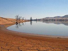 global warming lake photo