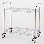 MW Series 600 Stainless Steel Utility Carts by InterMetro